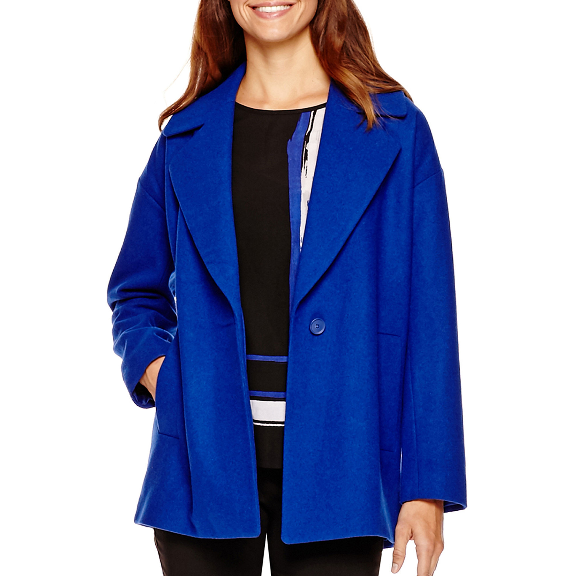 Liz Claiborne Long Coat plus size,  plus size fashion plus size appare
