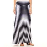 St. John's Bay® Long Knit Skirt