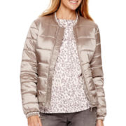 Liz Claiborne® Puffer Bomber Jacket