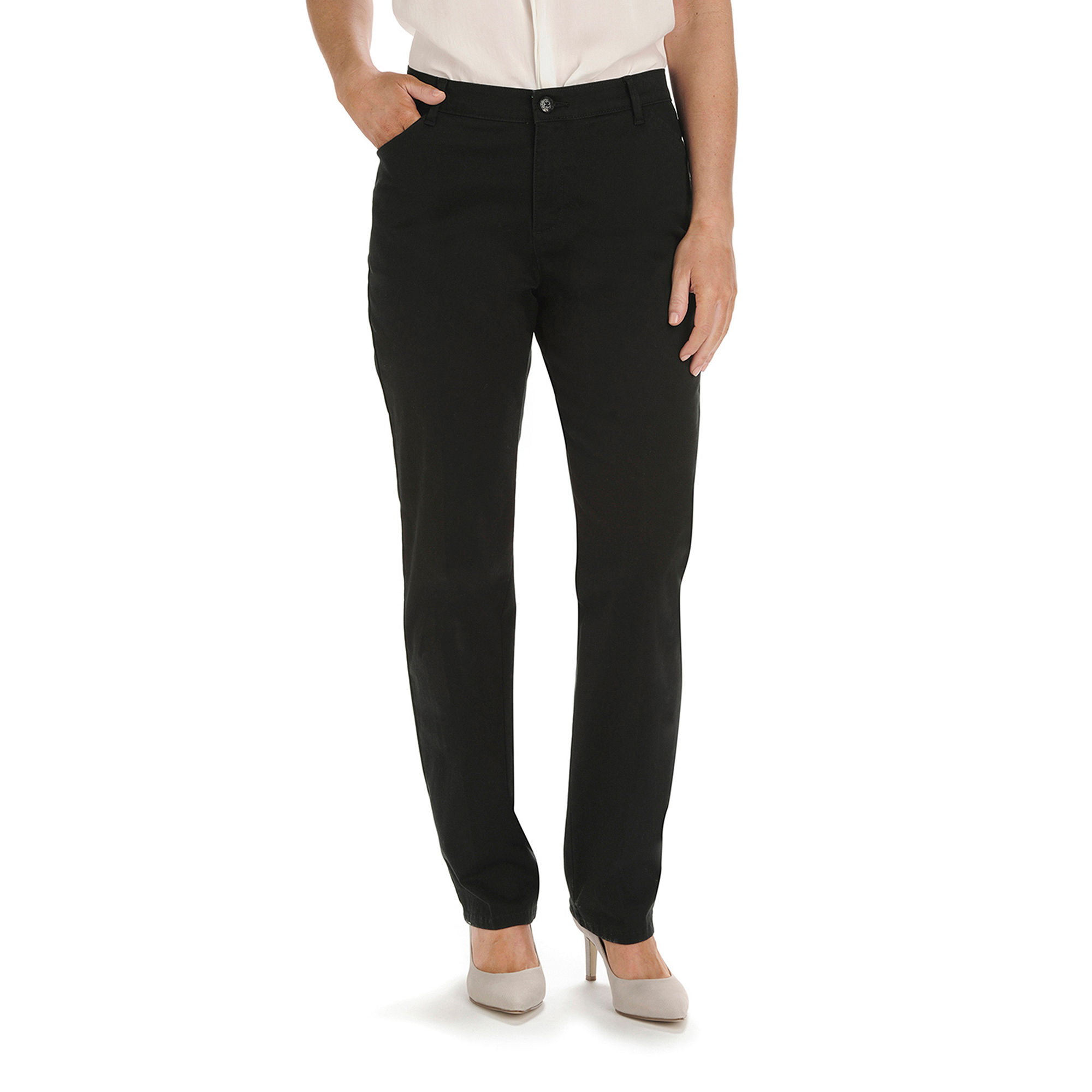Lee Plain Front All Day Pants