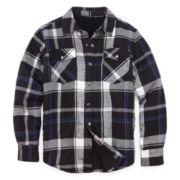 Arizona Sherpa-Lined Flannel Shirt - Boys 8-20