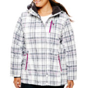 ZeroXposur® Print Ski Jacket with Headband - Plus