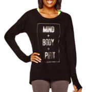 Xersion™ Long-Sleeve High-Low Sweatshirt
