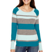 St. John's Bay® Long-Sleeve Sweater - Petite