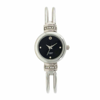 jcpenney.com | Womens Silver Tone Bangle Watch-Gen534
