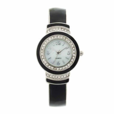 jcpenney.com | Womens White Bangle Watch-Gen1645g