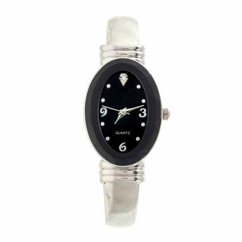 Womens Gold Tone Bangle Watch-Gen571