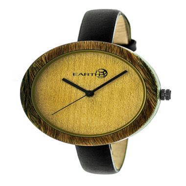 jcpenney.com | Earth Wood Unisex Green Strap Watch