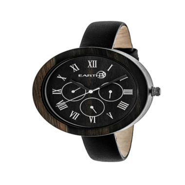 jcpenney.com | Earth Wood Unisex Brown Strap Watch