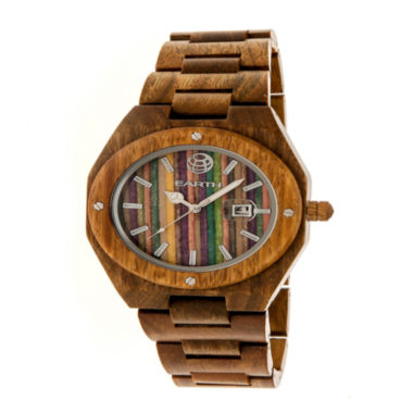 jcpenney.com | Earth Wood Unisex Multi-Color Strap Watch