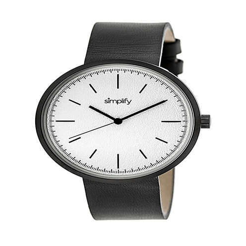Simplify Unisex Gray Strap Watch-Sim3008