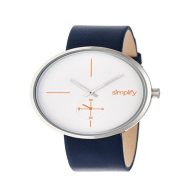 jcpenney.com | Simplify Unisex Blue Strap Watch-Sim4401