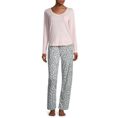 jcpenney.com | Dearfoams Cotton Pant Pajama Set