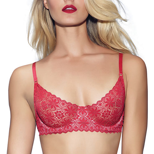 Jezebel Underwire Unlined Demi Bra-11044