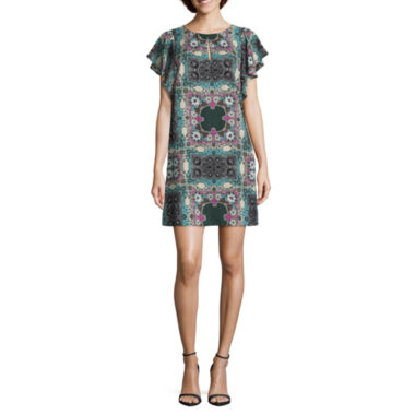 jcpenney.com | Roxberi Short Sleeve Shift Dress
