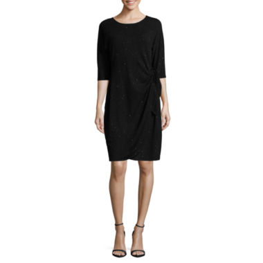 jcpenney.com | Robbie Bee 3/4 Sleeve Sheath Dress