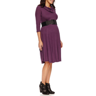 jcpenney.com | Robbie Bee 3/4 Sleeve Sweater Dress-Petites