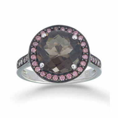 jcpenney.com | Womens Brown Quartz Halo Ring