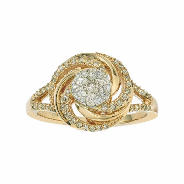 jcpenney.com | 1/2 CT. T.W. Diamond 10K Yellow Gold Ring