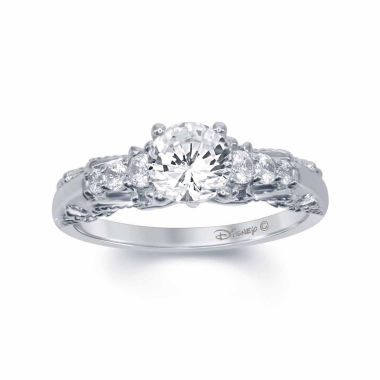 "jcpenney.com | Enchanted by Disney 1 C.T. T.W. Diamond 14K White Gold ""Snow White"" Ring"