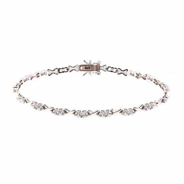 jcpenney.com | Diamonart Womens White Cubic Zirconia Tennis Bracelet