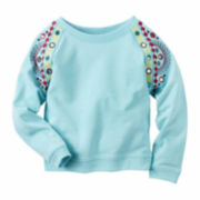 Carter's Girl Turquoise Top 2T-5T