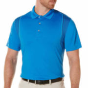 PGA Tour Short Sleeve Pattern Polo Shirt