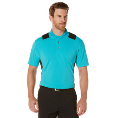 jcpenney.com | PGA TOUR® Colorblock Short-Sleeve Polo - Big & Tall