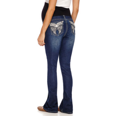 jcpenney.com | Zco Jeans Classic Fit Bootcut Jeans-Maternity