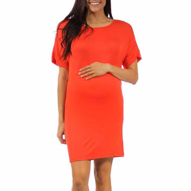 jcpenney.com | 24/7 Comfort Apparel Sheath Dress-Plus Maternity