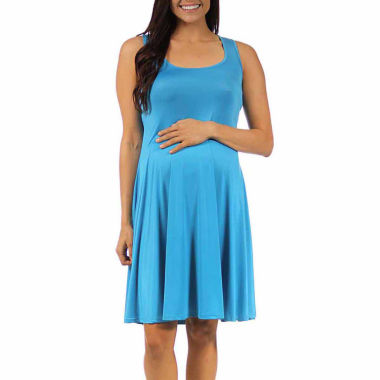 jcpenney.com | 24/7 Comfort Apparel A-Line Dress-Plus Maternity