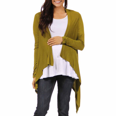 jcpenney.com | 24/7 Comfort Apparel Cardigan Plus Maternity