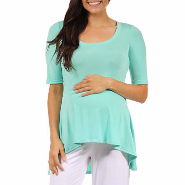jcpenney.com | 24/7 Comfort Apparel Knit Blouse-Maternity