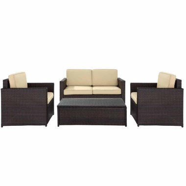 jcpenney.com | Palm Harbor Wicker 4-pc. Conversation Set