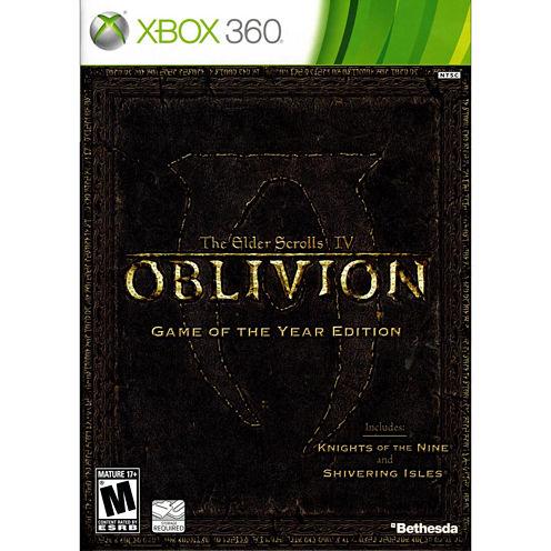 Elder Scrolls Iv Oblivion Video Game-XBox 360