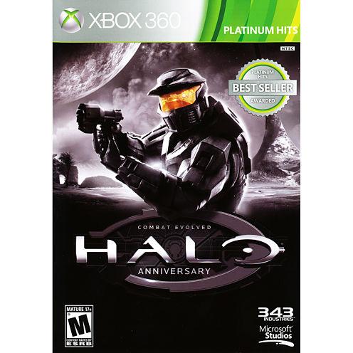 Microsoft Halo Combat Evolved Anniversary Video Game-XBox 360