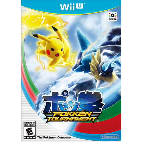 Pokken Tournament Video Game-Wii U
