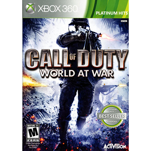 Call Of Duty World At War Video Game-XBox 360