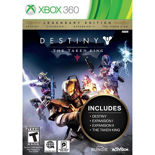 Destiny Taken King Legend Video Game-XBox 360