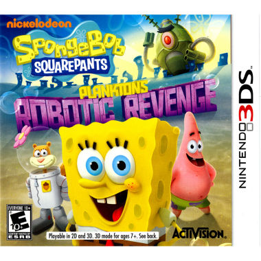 jcpenney.com | Spongebob: Plankton'S Rev Spongebob Video Game-Nintendo 3DS