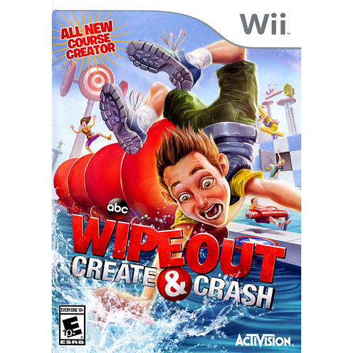 Wipeout Create & Crash Video Game-Wii