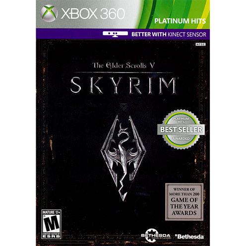 Elder Scrolls V: Skyrim Video Game-XBox 360