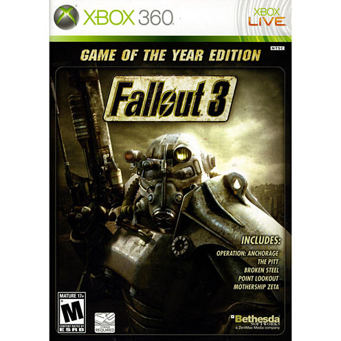 Fallout 3 Video Game-XBox 360