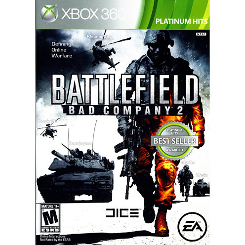 Battlefield:Bad Company 2 Video Game-XBox 360