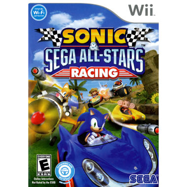 jcpenney.com | Sega Sonic All Star Racing Video Game-Wii