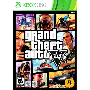 jcpenney.com | Grand Theft Auto V Video Game-XBox 360