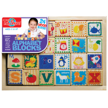 jcpenney.com | 24-pc. Building Blocks