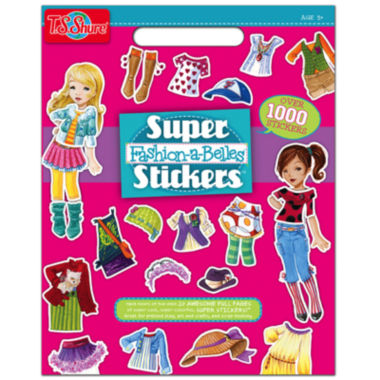 jcpenney.com | Super Fashion-A-Belles Stickers Activity Book