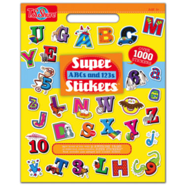 jcpenney.com | Super Abcs And 123s Stickers Activity Book