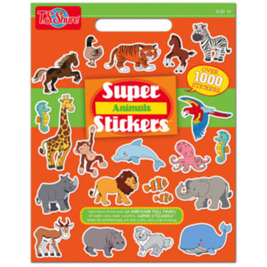 jcpenney.com | Super Animals Stickers Activity Book